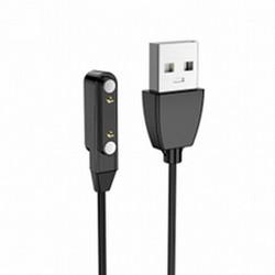 USB дата-кабель Hoco Y2 для смарт часов (1.0 м) Черный