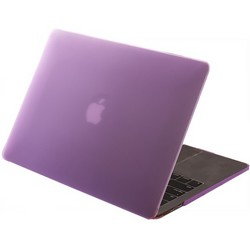 "Защитный чехол-накладка HardShell Case для Apple MacBook New Pro 13"" Touch Bar (2016-2020г.) A1706/A1708/A1989/A2159/A2289/A2251 (M1) матовая Фиолетовая"