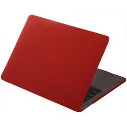 "Защитный чехол-накладка HardShell Case для Apple MacBook New Pro 13"" Touch Bar (2016-2020г.) A1706/A1708/A1989/A2159/A2289/A2251 (M1) матовая Бордовая"