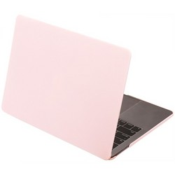 "Защитный чехол-накладка HardShell Case для Apple MacBook New Pro 13"" Touch Bar (2016-2020г.) A1706/A1708/A1989/A2159/A2289/A2251 (M1) матовая Розовая"