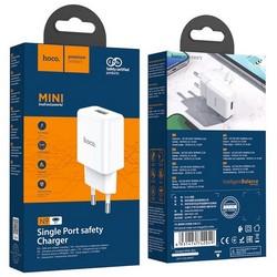 Адаптер питания Hoco N9 Especial single port charger Apple&Android (USB: 5V max 2.1A) Белый