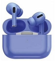 Bluetooth-гарнитура Prime Line TWS-Air Urban BT 5.0 (D-4039) с зарядным устройством 220 mAh Синий