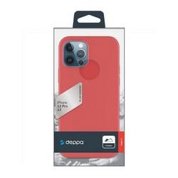 """Чехол-накладка силикон Deppa Gel Color Case D-87751 для iPhone 12/ 12 Pro (6.1"""") 1.0мм Красный"""