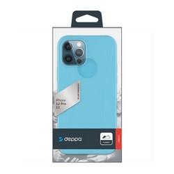"""Чехол-накладка силикон Deppa Gel Color Case D-87753 для iPhone 12/ 12 Pro (6.1"""") 1.0мм Мятный"""
