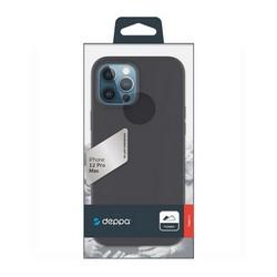 """Чехол-накладка силикон Deppa Gel Color Case D-87755 для iPhone 12 Pro Max (6.7"""") 1.0мм Черный"""