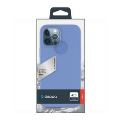 "Чехол-накладка силикон Deppa Gel Color Case D-87757 для iPhone 12 Pro Max (6.7"") 1.0мм Синий"