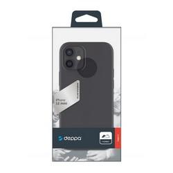 """Чехол-накладка силикон Deppa Gel Color Case D-87760 для iPhone 12 mini (5.4"""") 1.0мм Черный"""