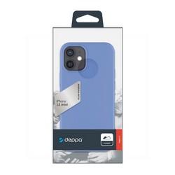 "Чехол-накладка силикон Deppa Gel Color Case D-87762 для iPhone 12 mini (5.4"") 1.0мм Синий"