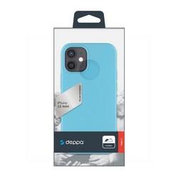 """Чехол-накладка силикон Deppa Gel Color Case D-87763 для iPhone 12 mini (5.4"""") 1.0мм Мятный"""