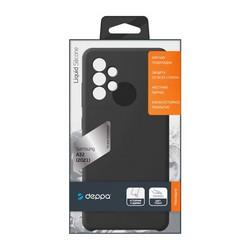 Чехол-накладка силикон Deppa Liquid Silicone Case D-870120 для Samsung GALAXY A32 (2021) Черный