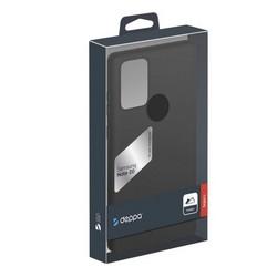 Чехол-накладка силикон Deppa Gel Color Case TPU D-87730 для Samsung Galaxy Note 20 Черный