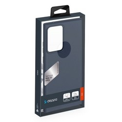 Чехол-накладка силикон Deppa Gel Color Case TPU D-87733 для Samsung Galaxy Note 20 Ultra Синий