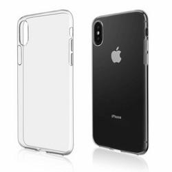 Силиконовый чехол для Apple iPhone X/Xs Прозрачный