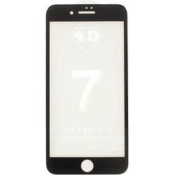 Стекло защитное 4D для iPhone 7 Plus (5.5) Black