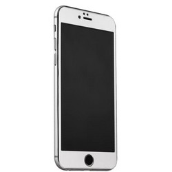 Стекло защитное&накладка пластиковая iBacks Full Screen Tempered Glass для iPhone 6s Plus/ 6 Plus (5.5) - (ip60186) Серебристое