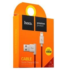USB дата-кабель Hoco UPL11 L Shape Lightning (1.2 м) Красный