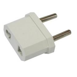 Адаптер сетевой Makel 10А/ 250V, для всех стандартов вилок, Белый