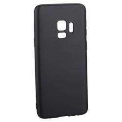 Чехол-накладка Deppa Case Silk TPU Soft touch D-89008 для Samsung GALAXY S9 SM-G960F 1мм Темно-серый металик