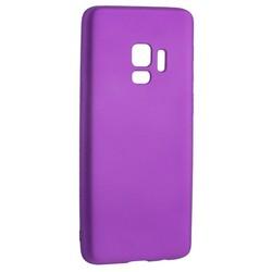 Чехол-накладка Deppa Case Silk TPU Soft touch D-89006 для Samsung GALAXY S9 SM-G960F 1мм Фиолетовый металик