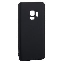 Чехол-накладка Deppa Case Silk TPU Soft touch D-89000 для Samsung GALAXY S9 SM-G960F 1мм Черный металик