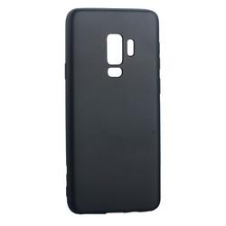 Чехол-накладка Deppa Case Silk TPU Soft touch D-89009 для Samsung GALAXY S9+ SM-G965F 1мм Темно-серый металик