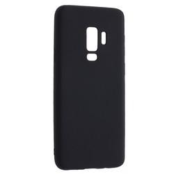 Чехол-накладка Deppa Case Silk TPU Soft touch D-89001 для Samsung GALAXY S9+ SM-G965F 1мм Черный металик