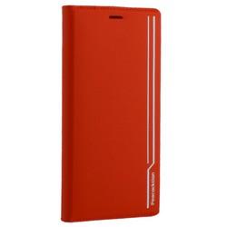 """Чехол-книжка кожаный Peacocktion для iPhone XS Max (6.5"""") Royal Series (ZGIIP9RED) Красный"""