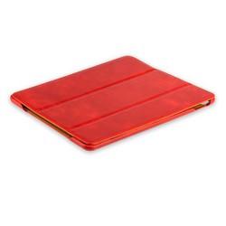"""Чехол кожаный i-Carer для iPad Pro (10.5"""") Vintage Series (RID708red) Красный"""