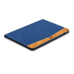"Чехол тканевый XOOMZ для iPad Pro (10,5"") Simple Fabric Material Made Folio Cover Erudition Series (XID712blue) Синий"