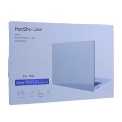 """Защитный чехол-накладка HardShell Case для Apple MacBook Pro 13"""" Touch Bar (2016-2019г.г.) A1706/ A1708/ A1989 матовая черная"""