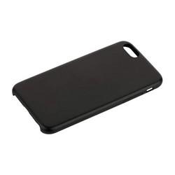 Чехол-накладка кожаная Leather Case для iPhone 6s/ 6 (4.7) Black - Черный