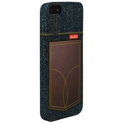 Накладка пластиковая Umku Jeans для iPhone SE/ 5s/ 5 Soft-touch вид 7