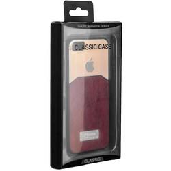 Чехол-накладка с яблоком для iPhone SE/ 5S/ 5 коричневая