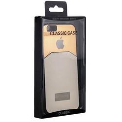 Чехол-накладка с яблоком для iPhone 6s/ 6 (4.7) белая