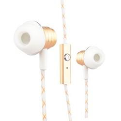 Наушники COTEetCI Earphone EH-01-METAL CS3010-GD Золотистые