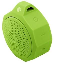 Портативный динамик COTEetCI Bluetooth SILICONE PORTABLE SPEAKER CS2305-GY Зеленый с защитой от брызг
