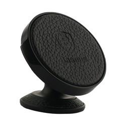 Автомобильный держатель Baseus Series Vertical Magnetic Bracket (Genuine Leather) магнитный универсальный SUER-F01 Черный