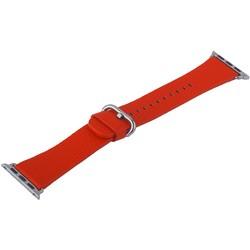 Ремешок кожаный COTEetCI W22 Band for Premier (WH5232-RD) для Apple Watch 40мм/ 38мм (классическая пряжка) Красный