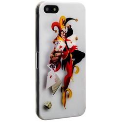 Чехол-накладка UV-print для iPhone SE/ 5S/ 5 пластик (мультфильмы) тип 13