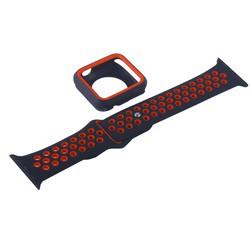 Ремешок спортивный COTEetCI W32 Sports Band Suit (WH5253-BK+RD-38) для Apple Watch 38мм Черно-Красный