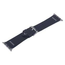 Ремешок кожаный COTEetCI W33 Fashion LEATHER классическая пряжка (WH5256-BK-38) для Apple Watch 40мм/ 38мм Черный