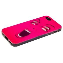 Чехол-накладка UV-print для iPhone SE/ 5S/ 5 силикон (арт) тип 81