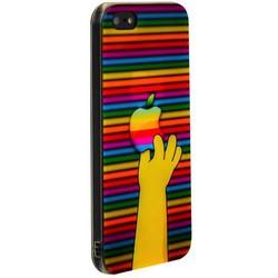 Чехол-накладка UV-print для iPhone SE/ 5S/ 5 силикон (бренды) тип 83