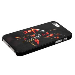 Чехол-накладка UV-print для iPhone SE/ 5S/ 5 пластик (кино и мультики) тип 001