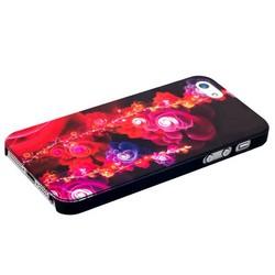 Чехол-накладка UV-print для iPhone SE/ 5S/ 5 пластик (абстракция) тип 19