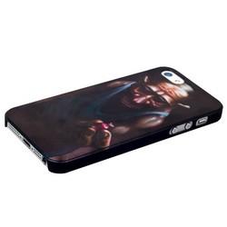 Чехол-накладка UV-print для iPhone SE/ 5S/ 5 пластик (арт) тип 001