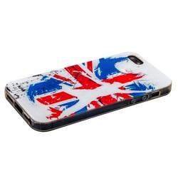 Чехол-накладка UV-print для iPhone SE/ 5S/ 5 силикон (города и страны) тип 44