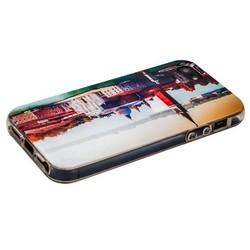 Чехол-накладка UV-print для iPhone SE/ 5S/ 5 силикон (города и страны) тип 001