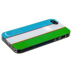 Чехол-накладка UV-print для iPhone SE/ 5S/ 5 силикон (города и страны) тип 002