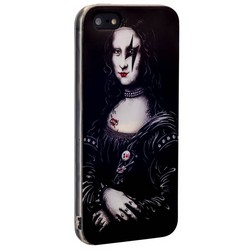 Чехол-накладка UV-print для iPhone SE/ 5S/ 5 силикон (арт) тип 39